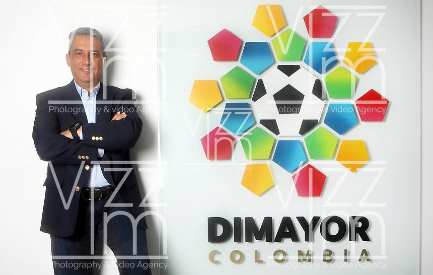 BOGOTA - COLOMBIA, 21-08-2020: Fernando Jaramillo, Presidente de la Division Mayor del Futbol Colombiano (DIMAYOR). /  Fernando Jaramillo, President of the Major Division of Colombian Soccer (DIMAYOR). / Photo: VizzorImage / Luis Ramirez / Staff.