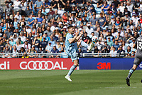 ST. PAUL, MN - AUGUST 21: Luis Martins #36 of Sporting Kansas City during a game between Sporting Kansas City and Minnesota United FC at Allianz Field on August 21, 2021 in St. Paul, Minnesota.