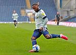 03.10.20 - Blackburn Rovers v Cardiff City - Sky Bet Championship - Junior Hoilett of Cardiff