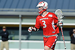 Baltimore, MD - March 3:  Attackmen Sam Snow #3 of the Fairfield Stags during the Fairfield v UMBC mens lacrosse game at UMBC Stadium on March 3, 2012 in Baltimore, MD.