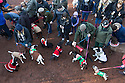 """18/12/16<br /> <br /> Queue to see Santa Paws.<br /> <br /> Close to 800 dogs, many of them dressed up in festive garb, have visited their very own Santa Paws in a special dog-only Christmas grotto held in Sherwood Forest in Nottinghamshire this weekend.<br /> The two-day event, which was organised by park rangers working for Nottinghamshire County Council, has been running for three years.<br /> Ranger Graeme Turner, who originally came up with the idea for a doggy-themed Santa's Grotto said this year has been the best so far.<br /> """"The queue is huge, it snakes back all the way round the visitor's centre,"""" he said. """"All the dogs are being very well behaved, I guess they don't want to get onto Santa Paw's naughty list this close to Christmas!""""<br /> All canine visitors to the grotto got a special doggy bag full of treats and money raised from the event will go to Jerry Green Dog Rescue charity.<br /> <br /> All Rights Reserved F Stop Press Ltd. (0)1773 550665   www.fstoppress.com"""