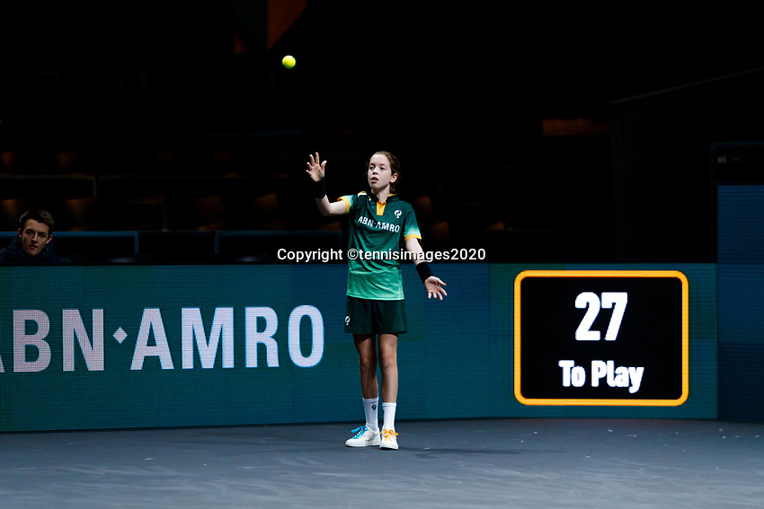 Rotterdam, The Netherlands, 12 Februari 2020, ABNAMRO World Tennis Tournament, Ahoy,<br /> Photo: www.tennisimages.com