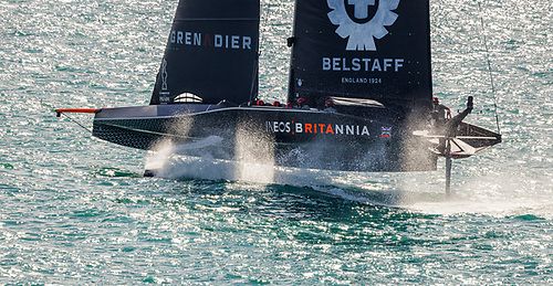 Sir Ben Ainslie's Team INEOS UK were beaten so markedly in the lighter airs