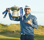 Rafa CABRERA-BELLO (ESP) is the 2017 Aberdeen Asset Management Scottish Open Champion. The tournament was played at Dundonald Links from 13th to 16th July 2017: Picture Stuart Adams, www.golftourimages.com: 16/07/2017