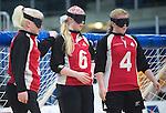 Toronto 2015 - Goalball.<br /> Canada's Women's Goalball team plays against USA in the semi finals // L'équipe féminine de goalball du Canada joue contre les États-Unis en demi-finale. 14/08/2015.