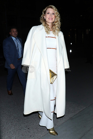 NEW YORK, NY - NOVEMBER 12: Laura Dern seen arriving to the MoMA Film Benefit Honoring Laura Dern in New York City on November 12, 2019. Credit: RW/MediaPunch