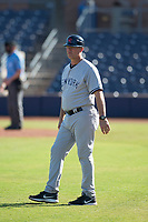 Scottsdale Scorpions manager Jay Bell (11), of the New York Yankees organization, during a game against the Peoria Javelinas on October 19, 2017 at Peoria Stadium in Peoria, Arizona. The Scorpions defeated the Javelinas 13-7.  (Zachary Lucy/Four Seam Images)