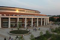 John Paul Jones arena at the University of Virginia in Charlottesville, VA. 8-17-06. Photo/Andrew Shurtleff