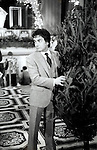Dudley Moore <br />FILMING 'SIX WEEKS' on December 1, 1982 at the<br />WALDORF ASTORIA HOTEL in<br />NEW YORK CITY