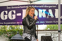 Laura Wilde tritt bei GG-Lokal im Biergarten des Kulturcafe auf - Gross-Gerau 27.08.2021: GG-Lokal mit Laura Wilde