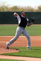 Alex Liddi -Chicago White Sox 2014 spring training (Bill Mitchell)