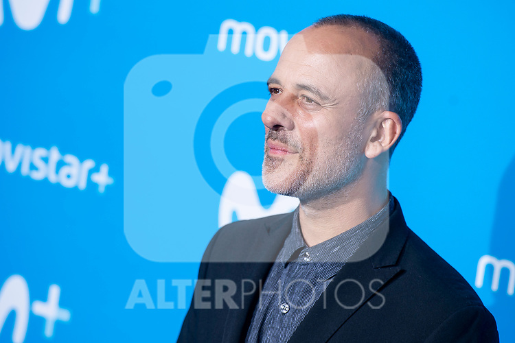 Javier Gutierrez attends to blue carpet of presentation of new schedule of Movistar+ at Queen Sofia Museum in Madrid, Spain. September 12, 2018. (ALTERPHOTOS/Borja B.Hojas)