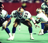 Craig Harrison Winnipeg Blue Bombers 1993. Photo F. Scott Grant