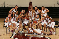01 October 2007: Top Row (L-R): Jillian Harmon, Ashley Cimino, Jayne Appel, Kayla Pedersen, Morgan Clyburn, Michelle Harrison, and Jeanette Pohlen. Bottom Row (L-R): Hannah Donaghe, Rosalyn Gold-Onwude, Candice Wiggins, Cissy Pierce, J.J. Hones, and Melanie Murphy.