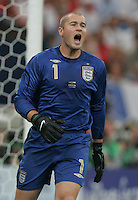 Paul Robinson.  Portugal defeated England on penalty kicks after playing to a 0-0 tie in regulation in their FIFA World Cup quarterfinal match at FIFA World Cup Stadium in Gelsenkirchen, Germany, July 1, 2006.