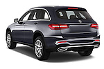 Car pictures of rear three quarter view of 2016 Mercedes Benz GLC Launch Edition 5 Door Suv Angular Rear
