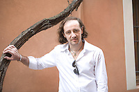 Mantova, Italy, 2008. Patrick Fogli, Italian writer. His Books are published in Italy by Piemme.
