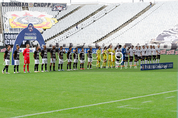 São Paulo (SP), 07/03/2021 - CORINTHIANS-PONTE PRETA - Fábio Moreno, técnico da Ponte Preta. Corinthians e Ponte Preta partida válida pela terceira rodada do Campeonato Paulista 2021, na Neo Química Arena, neste domingo (07).