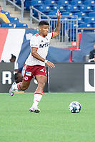 FOXBOROUGH, MA - JUNE 26: Alisson #27 of North Texas SC during a game between North Texas SC and New England Revolution II at Gillette Stadium on June 26, 2021 in Foxborough, Massachusetts.