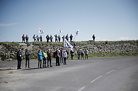 roadside (FDJ) fans<br /> <br /> 33th Tro Bro Léon 2016