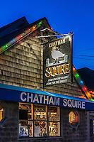 The Chatham Squire pub, Cape Cod, Massachusetts, USA