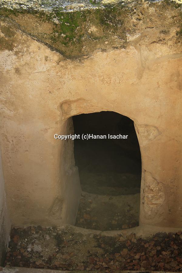 Israel, a Mikveh at the Archaeological site in Kibbutz Ramat Rachel