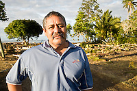 Chief Suatai Ioane from Poutasi village on the South Eastern coast of Upolo. He lost members of his family, and many remain missing. More than 170 people died when a tsunami triggered by an 8.3 magnitude earthquake hit Samoa and neighbouring Pacific islands on 29/09/2009. Samoa (formerly known as Western Samoa)..
