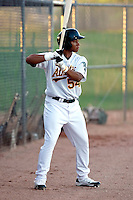 Michael Choice - AZL Athletics - 2010 Arizona League. Choice made his professional debut against the AZL Padres at Papago Park, Phoenix, AZ - 08/03/2010.Photo by:  Bill Mitchell/Four Seam Images..