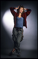STUDIO SESSION WITH JANE BIRKIN IN ANTWERPEN. 17 MARCH 2003. PICTURES GIE KNAEPS/ DALLE