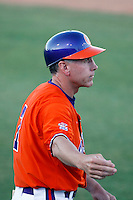 Jack Leggett, head coach of the Clemson Tigers, who were playing against the Arizona State Sun Devils in the NCAA Super Regional Tournament won by ASU at Packard Stadium, Tempe, AZ - 06/06/2009.Photo by:  Bill Mitchell/Four Seam Images