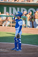 Marco Hernandez (13) of the Ogden Raptors during the game against the Rocky Mountain Vibes at Lindquist Field on July 6, 2019 in Ogden, Utah. The Vibes defeated the Raptors 7-2. (Stephen Smith/Four Seam Images)