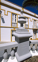 Spanien, Kanarische Inseln, El Hierro, Inselhauptstadt Valverde, Haus an der Plaza Miguel Nunez
