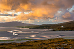 Isle of Lewis and Harris, Scotland: Beautiful turquoise waters and large sand bay of Luskentyre beach on South Harris Island