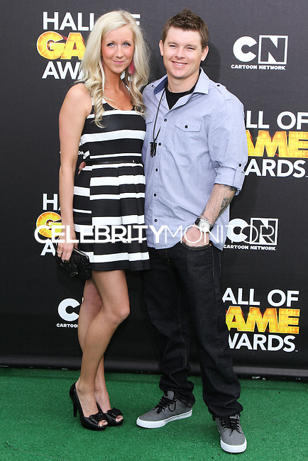 SANTA MONICA, CA, USA - FEBRUARY 15: Heath Frisby at the 4th Annual Cartoon Network Hall Of Game Awards held at Barker Hangar on February 15, 2014 in Santa Monica, California, United States. (Photo by David Acosta/Celebrity Monitor)