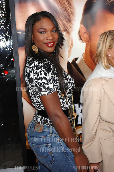 Tennis star SERENA WILLIAMS at the world premiere, in Beverly Hills, of Two For The Money..September 26, 2005  Beverly Hills, CA..© 2005 Paul Smith / Featureflash