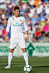 Cristiano Ronaldo of Real Madrid in action during the La Liga 2017-18 match between Getafe CF and Real Madrid at Coliseum Alfonso Perez on 14 October 2017 in Getafe, Spain. Photo by Diego Gonzalez / Power Sport Images
