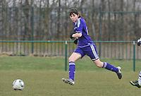 RSC Anderlecht Dames : Julie Van Gysel.foto DAVID CATRY / Vrouwenteam.be