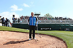 Celebrity Golf @ Golf Live.Colin Montgomerie gives a bunker masterclass..Celtic Manor Resort.10.05.13.©Steve Pope