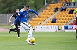 St Johnstone v Livingston….04.05.19      McDiarmid Park        SPFL<br />Michael O'Halloran fires saints into the lead<br />Picture by Graeme Hart. <br />Copyright Perthshire Picture Agency<br />Tel: 01738 623350  Mobile: 07990 594431