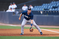 Lakeland Flying Tigers first baseman Jimmy Kerr (8) during a game against the Tampa Tarpons on June 1, 2021 at George M. Steinbrenner Field in Tampa, Florida.  (Mike Janes/Four Seam Images)