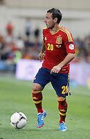 Spain's national team Santi Cazorla during match. October 16, 2012. (ALTERPHOTOS/Alvaro Hernandez) /NORTEPhoto