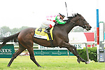 C.S. Silk with Javier Castellano win the 27th running of the Grade 1 Just A Game, for 3-year old & up fillies & mares, 1 mile on the turf.  Trainer Dale Romans. Owners Barbara Pacella