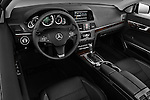 High angle dashboard view of a 2011 Mercedes E 550 Convertible