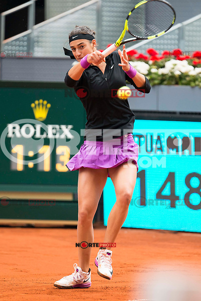 French Caroline Garcia during Doubles Woman Final Mutua Madrid Open Tennis 2016 in Madrid, May 07, 2016. (ALTERPHOTOS/BorjaB.Hojas) /NortePhoto.com