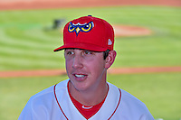 Nate Bertness (21) of the Orem Owlz before the game against the Grand Junction Rockies in Pioneer League action at Home of the Owlz on July 6, 2016 in Orem, Utah. The Owlz defeated the Rockies 9-1 in Game 1 of the double header.   (Stephen Smith/Four Seam Images)
