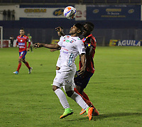 PASTO - COLOMBIA, 6-11-2017:Acción de juego entre los equipos Deportivo Pasto y Once Caldas  durante partido por la fecha 19 de la Liga Águila II 2017 jugado en el estadio La Libertad  de la ciudad de Pasto . / Action game between Deportivo Pasto and Once Caldas during match for the date 19 of the Aguila League II 2017 played at La Libertad  stadium in Pasto city. Photo: Vizzorimage / Leonardo Castro / Contribuidor