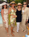 Cherie Flores,Vesta Frommer, Patricia Griffith and Molly Hubbard at the River Oaks International Tennis Tournament Luncheon at the River Oaks Country Club Wednesday April 16,2008. (Dave Rossman/For the Chronicle)