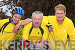 CURROW Cycling Club promoted.their 17th annual series of Leisure.Cycle events on Sunday, attracting.over 30 cyclists. The three route.programme of cycles ranged from.a 100 km event to a more leisurely.30 km trip for families