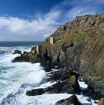 Grossbritannien, England, Cornwall, Botallack bei St. Just: Ruine einer Zinnmine an der rauhen Westkueste Cornwalls | Grossbritannien, England, Cornwall, Botallack near St Just: Ruins of tin mines on rugged West Cornwall coastline