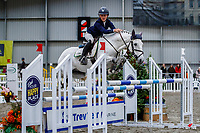 NZL-Emma Gillies rides Benrose Eclipse. Class 28: Trev Terry Marine Pony 1.15m-1.20m - FINAL. 2021 NZL-Easter Jumping Festival presented by McIntosh Global Equestrian and Equestrian Entries. NEC Taupo. Sunday 4 April. Copyright Photo: Libby Law Photography